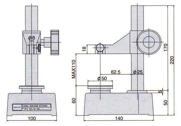 SIS-6C外部尺寸