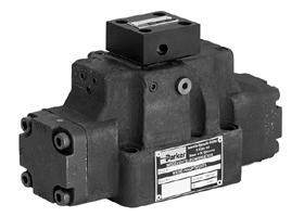 Parker派克D4P/D9P/D11P系列液动式换向阀