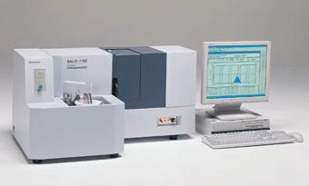 shimadzu 岛津激光衍射式粒度分布测量仪SALD-7101