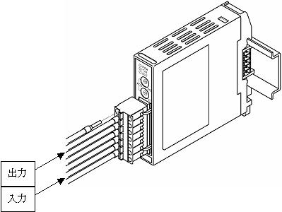NCL-13A I / O连接图