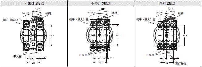 A22NE-PD / A22NE-P / A22E 额定值 / 性能 29