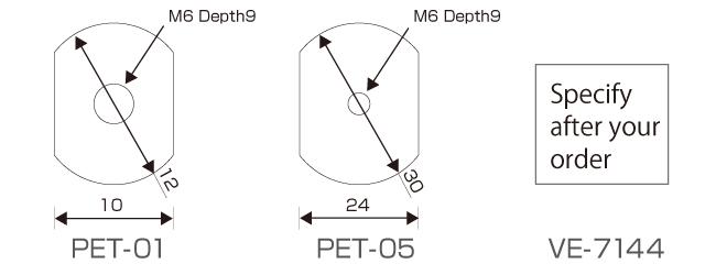 台面螺孔布置图