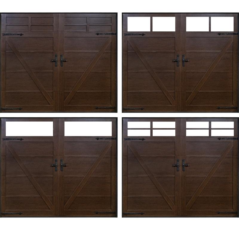 仿实木上滑门视窗造型