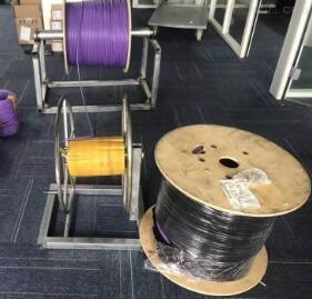 西门子紫色电缆
