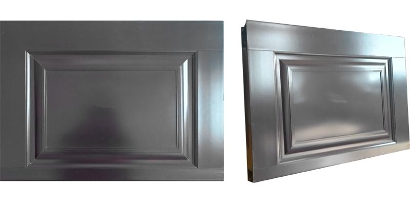 中式铝合金折叠车库门面板材质